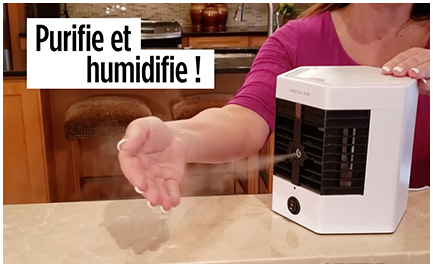 Purifie et humidifie